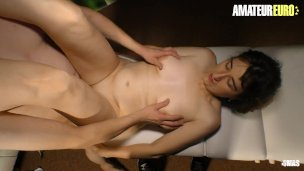 AMATEUREURO – Newbie German Mature Massaged And Fucked By Horny Guy