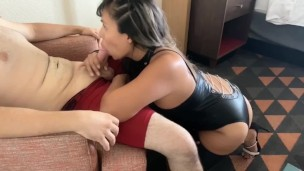 Cheating Wife Lets A Stranger Cum Inside Her While Husband Films