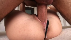 he can't handle my tight pussy and came inside twice!