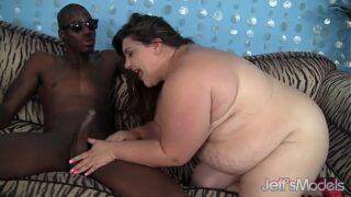 Horny BBW Bella Bendz hardcore interracial sex