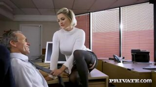 Private.com – British babe Sienna Day fucks her boss